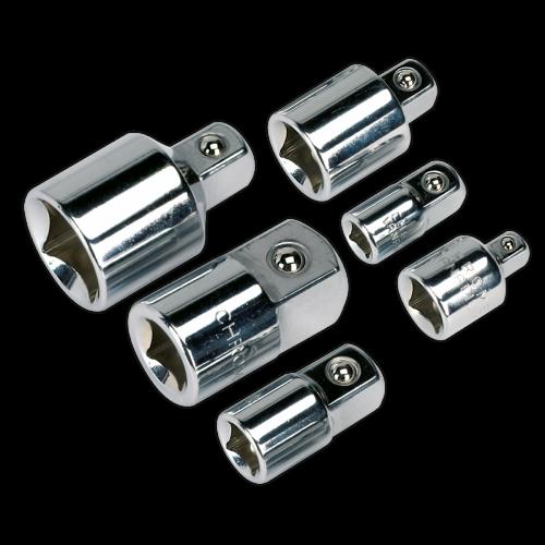 "Sealey SX052 Impact Spline Socket Bit Set 6pc 1//2/""Sq Drive"