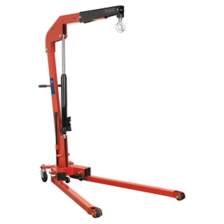 Sealey SPC1000 - Folding Engine Crane Premier 1tonne