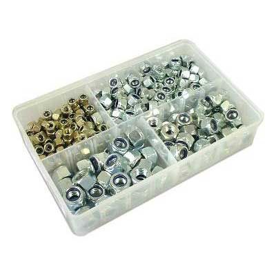 Nylon Lock Nuts Metric