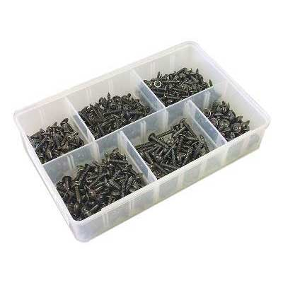 Screws Flanged Torx Black