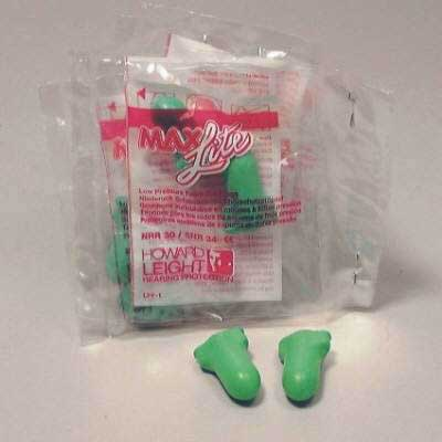 Disposable ear Plugs (20 x 5 pairs) 100qty