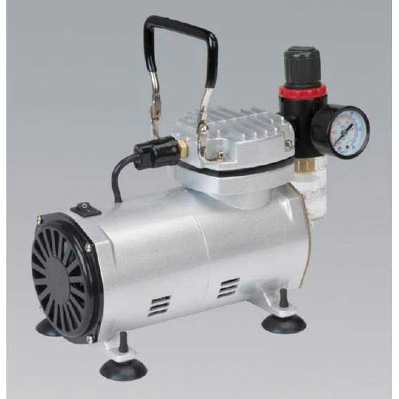 Sealey AB900 - Mini Air Brush Compressor
