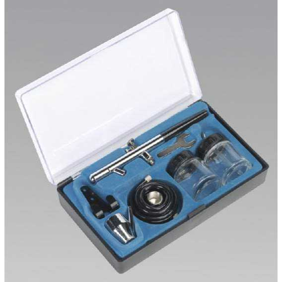 Sealey AB932 - Air Brush Kit Professional without Propellant