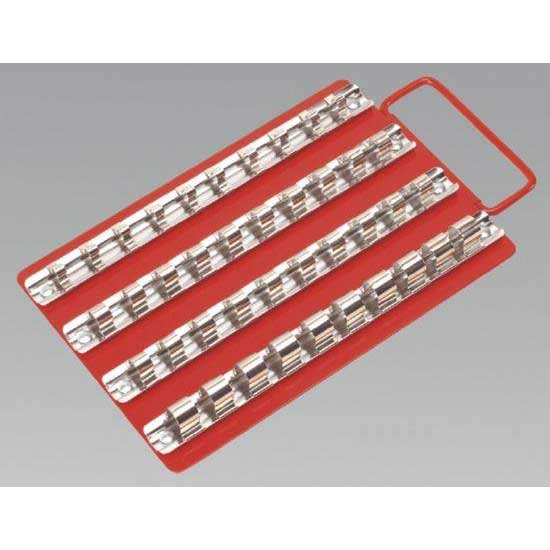 "Sealey AK2712 - Socket Rail Tray 1/4""  3/8"" & 1/2""Sq Drive"
