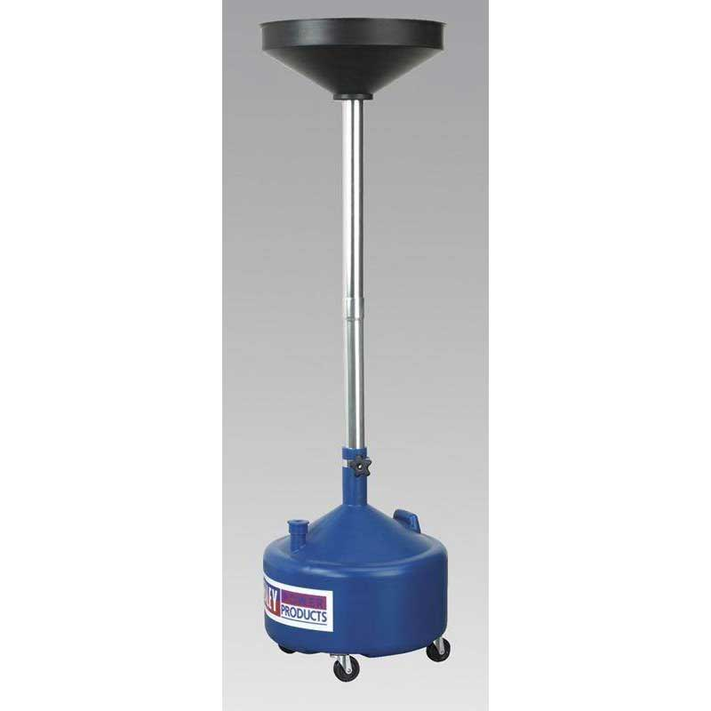 Sealey AK36D - Mobile Oil Drainer 36ltr Manual Discharge