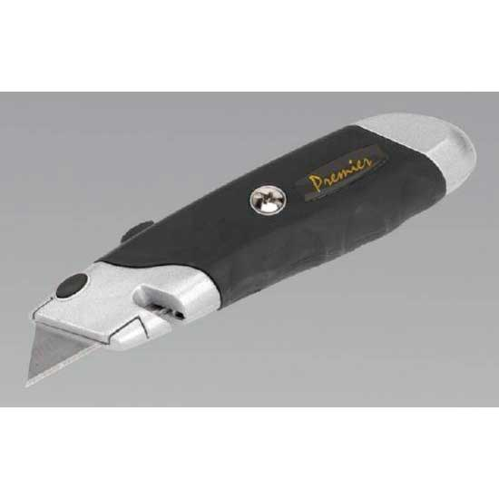 Sealey AK8603 - Retractable Utility Knife Quick Change Blade