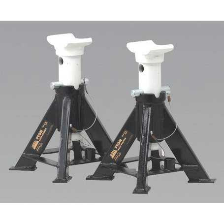 Sealey AS7S - Axle Stands 7tonne Capacity per Stand 14tonne per Pair Short