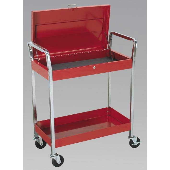 Sealey CX104 - Trolley 2-Level Extra Heavy-Duty with Lockable Top