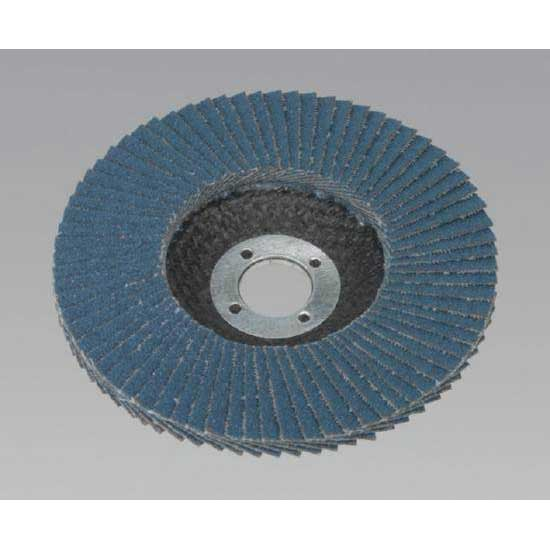 Sealey FD10060 - Flap Disc Zirconium O100mm 16mm Bore 60Grit