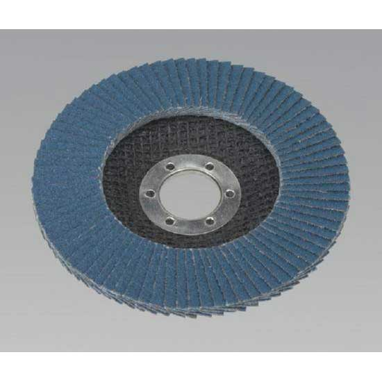 Sealey FD11560 - Flap Disc Zirconium O115mm 22mm Bore 60Grit