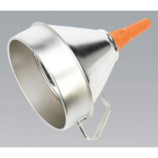 Sealey FM20 - Funnel Metal with Filter 200mm