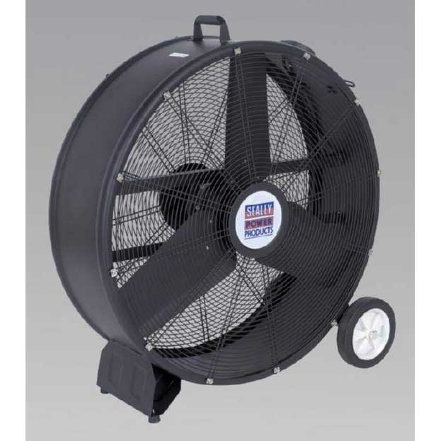"Sealey HVD30 - Industrial High Velocity Drum Fan 30"" 230V"