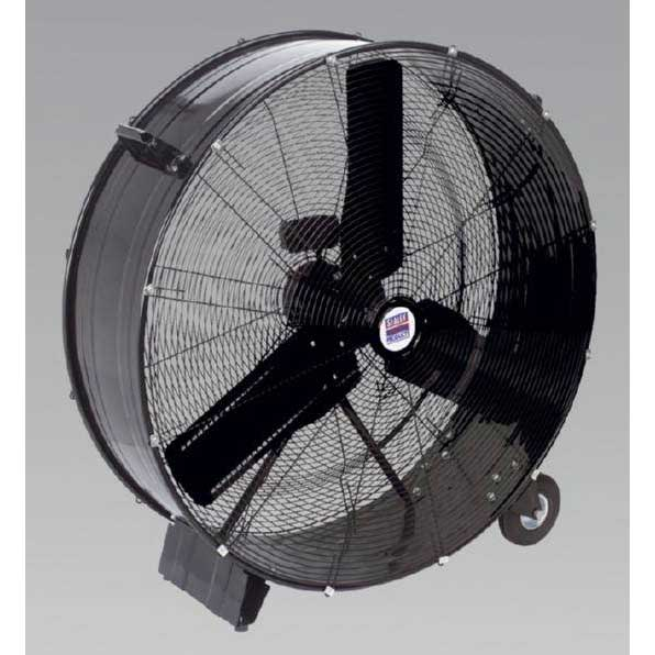 "Sealey HVD36 - Industrial High Velocity Drum Fan 36"" 230V"