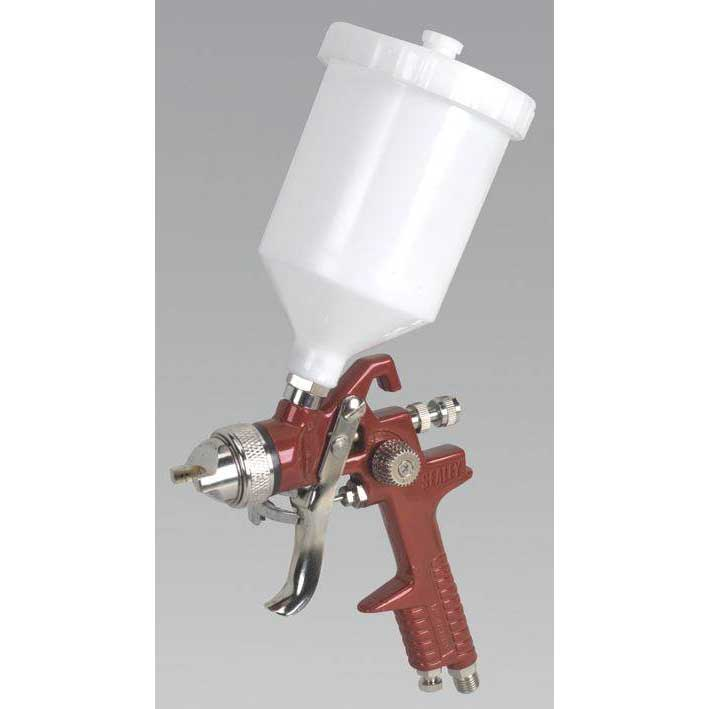 Sealey HVLP741 - HVLP Gravity Feed Spray Gun 1.4mm Set-Up
