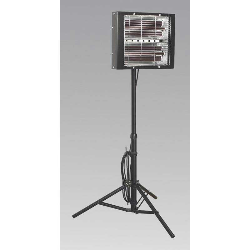 Sealey LP3000 - Infrared Quartz Heater - Tripod Mounted 3000W/230V