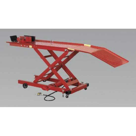 Sealey MC365A - Motorcycle Lift Yankee 365kg Air