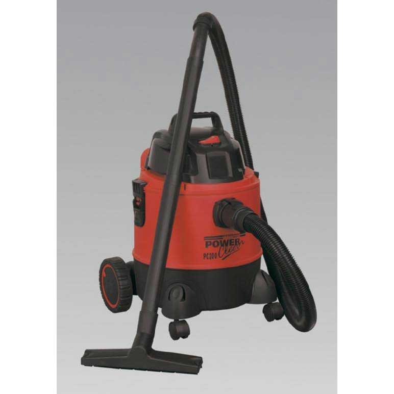Sealey PC200 - Vacuum Cleaner Wet & Dry 20ltr 1250W/230V