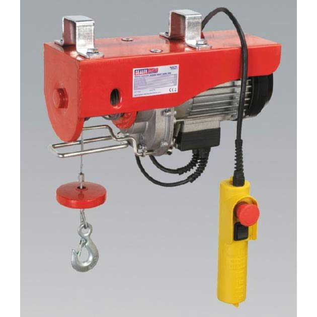 Sealey PH400 - Power Hoist 230V/1ph 400kg Capacity