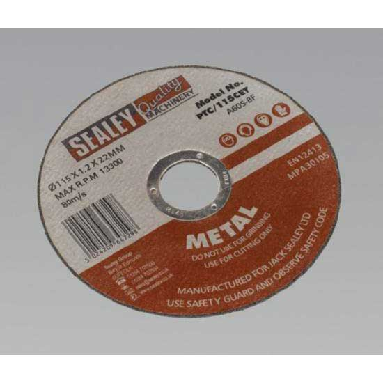 Sealey PTC/115CET - Cutting Disc O115 x 1.2mm 22mm Bore