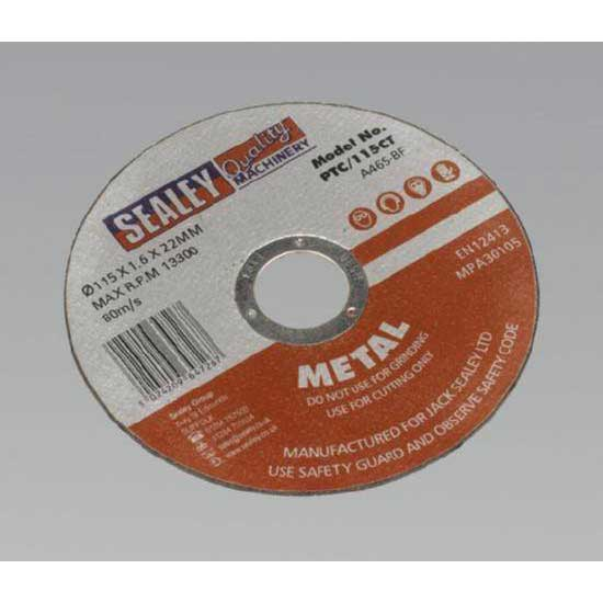 Sealey PTC/115CT - Cutting Disc O115 x 1.6mm 22mm Bore