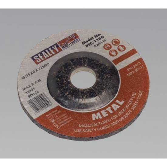 Sealey PTC/115G - Grinding Disc O115 x 6mm 22mm Bore