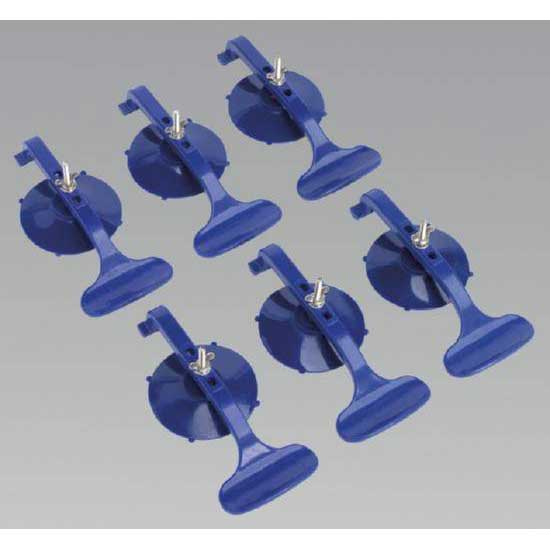 Sealey RE006 - Suction Clamp Set 6pc
