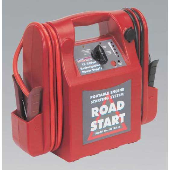 Sealey RS105 - RoadStart Emergency Power Pack 12/24V 3200/1600 Peak Amps
