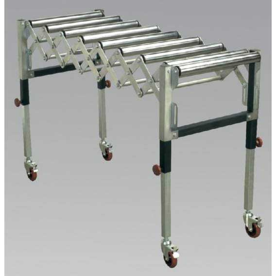 Sealey RS911F - Adjustable Roller Stand 450 - 1300mm 130kg Capacity