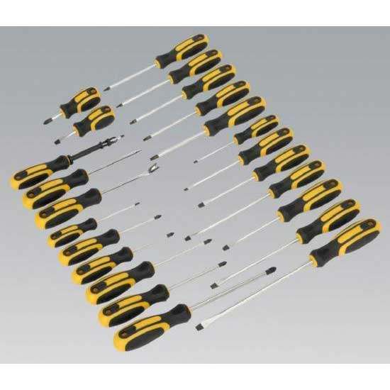 Sealey S0617 - Softgrip Screwdriver Set 24pc