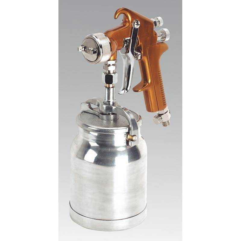 Sealey S775 - Spray Gun Suction Feed Siegen Brand 1.8mm Set-Up