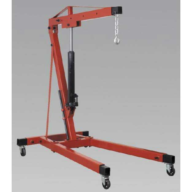 Sealey SC10LR - Folding Crane Yankee 1tonne Long Reach