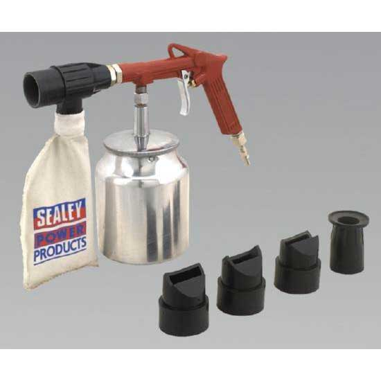 Sealey SG10E - Air Recirculating Economy Sand Blasting Kit
