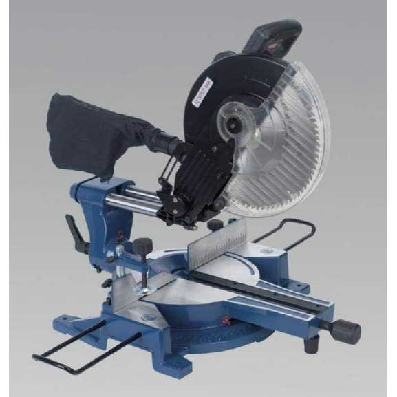 Sealey SMS12 - Compound Sliding Mitre Saw 305mm 230V