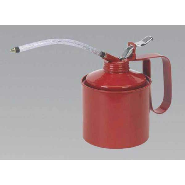 Metal Oil Can Flexi Spout 1000ml
