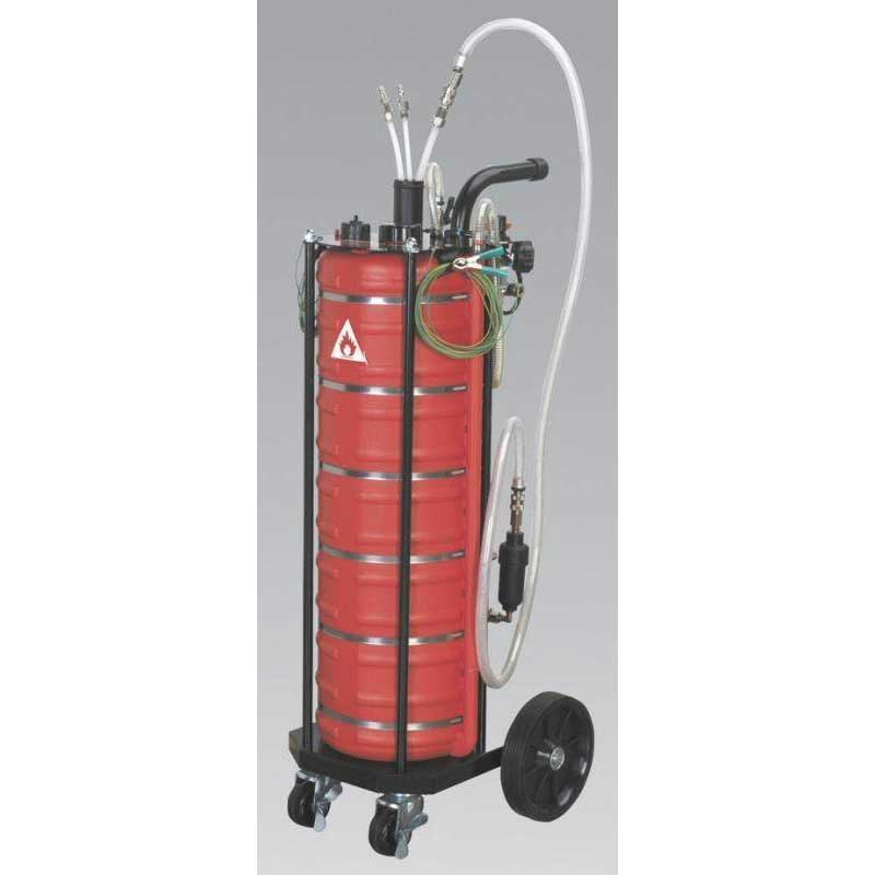 Sealey TP200 - Air Operated Fuel Drainer