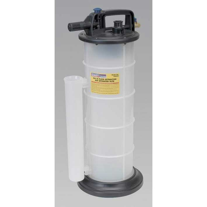 Sealey TP6903 - Vacuum Oil & Fluid Extractor Air Operated 9ltr