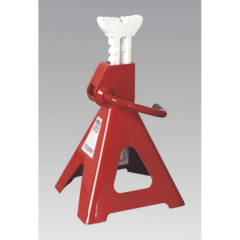Sealey VS2012 - Axle Stands 12tonne Capacity per Stand 24tonne per Pair Ratchet Type