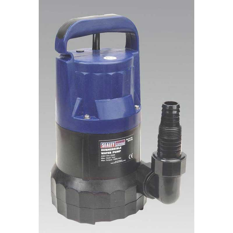Sealey WPC100 - Submersible Water Pump 100ltr/min 230V
