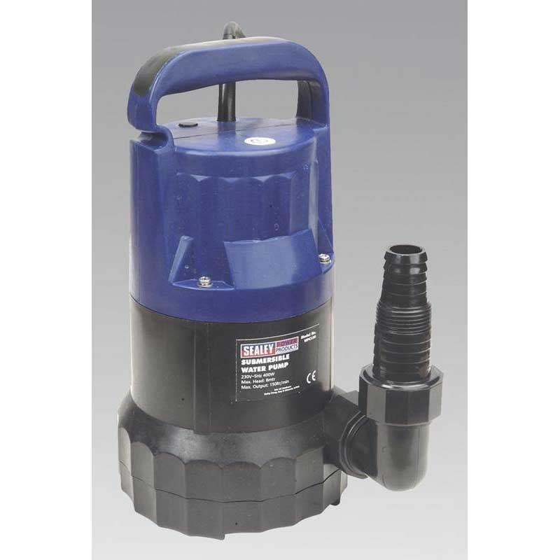 Sealey WPC150 - Submersible Water Pump 150ltr/min 230V