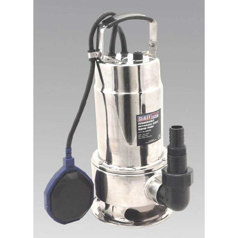 Sealey WPS225A - Submersible Stainless Water Pump Automatic 225ltr/min 230V