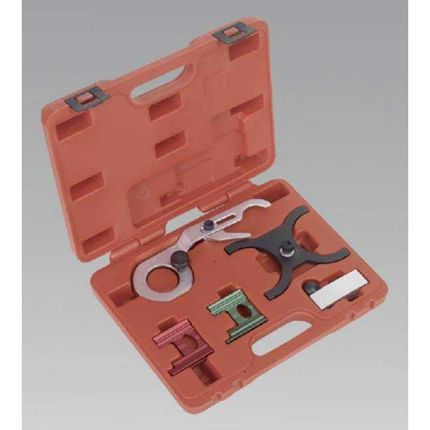 Sealey VSE130 - Petrol Engine Setting/Locking Kit - Saab & Vauxhall/Opel V6 - Belt Drive