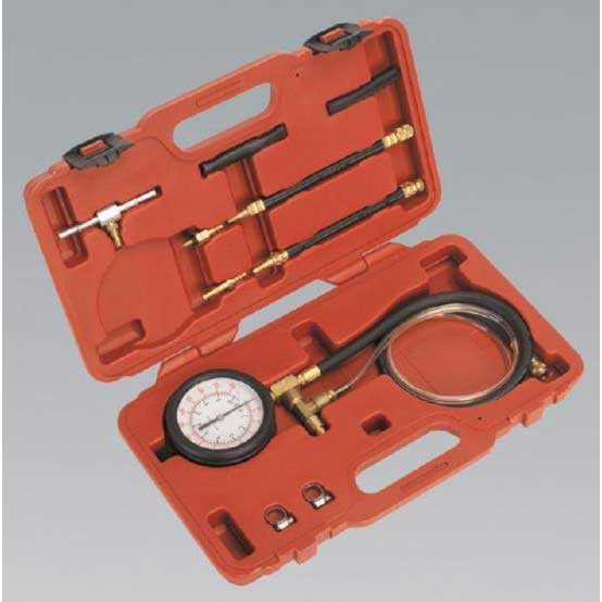 Sealey VSE211 - Fuel Injection Pressure Test Set - Test Port