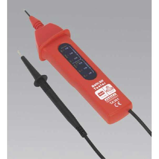Sealey TA301 - Automotive Battery/Alternator Voltage Tester