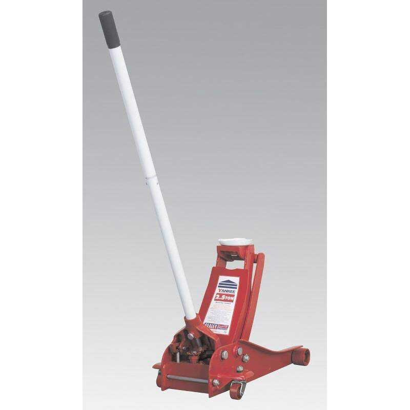 Sealey 2500LE - Trolley Jack Yankee 2.5tonne Low Entry