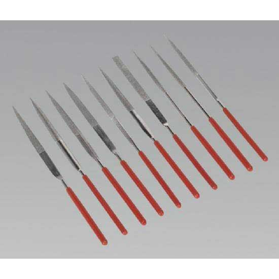 Sealey AK577 - Diamond Needle File Set 10pc