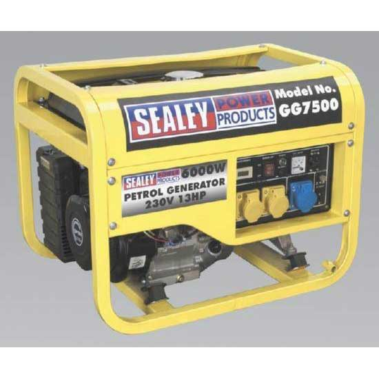 Sealey GG7500 - Generator 6000W 110/230V 13hp