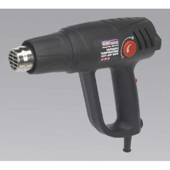 Sealey HS107K - Variable Temperature Hot Air Gun Kit 2000W 50-450°C/90-600°C