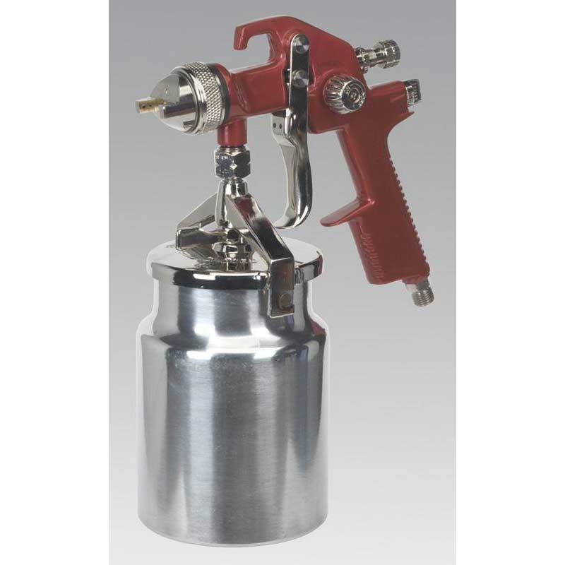 Sealey HVLP740 - HVLP Suction Feed Spray Gun 1.7mm Set-Up
