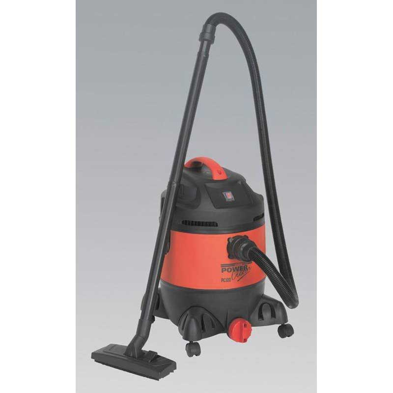 Sealey PC300 - Vacuum Cleaner Wet & Dry 30ltr 1400W/230V