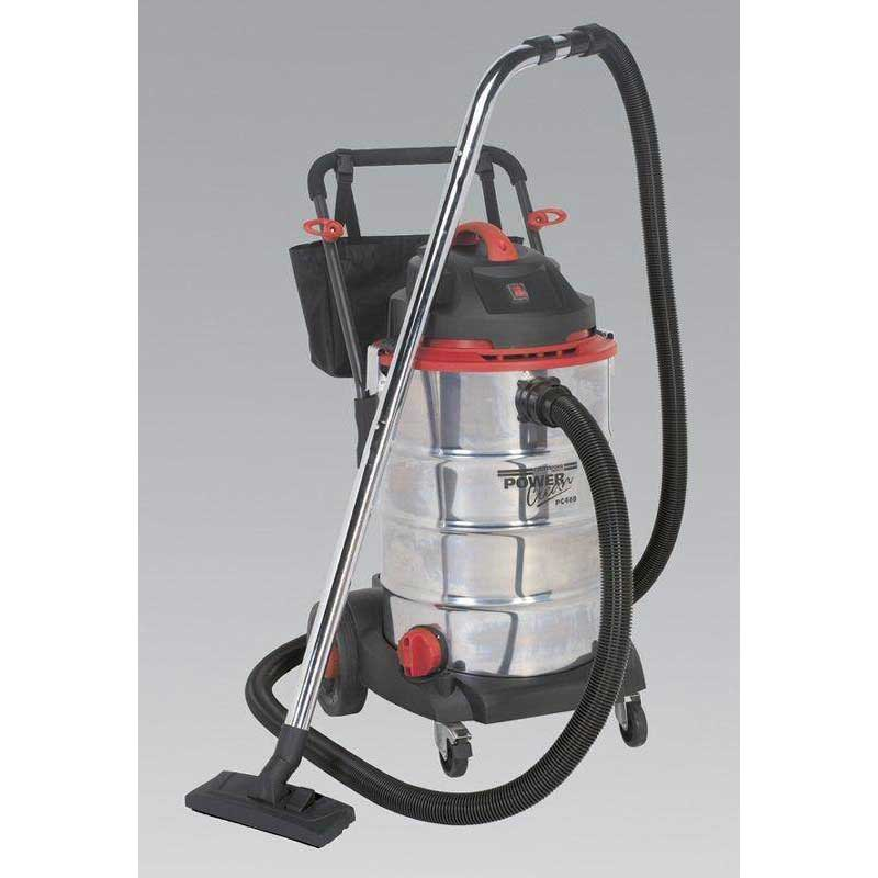 Sealey PC460 - Vacuum Cleaner Wet & Dry 60ltr 1600W/230V